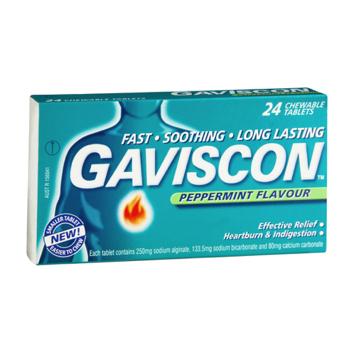 GAVISCON Chewable Tablets, 24's
