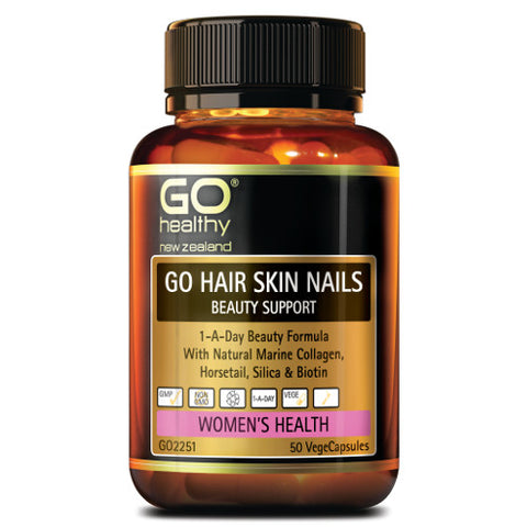 GO Hair/Skin/Nail Beauty Support VegeCapsules