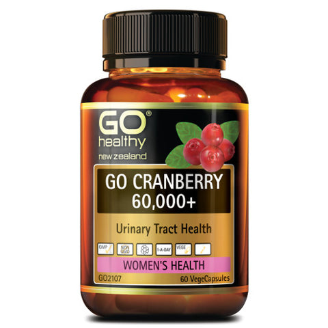 GO Cranberry 60000+ VegeCapsules