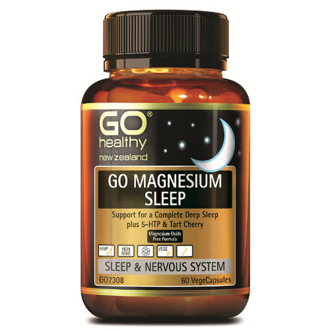 GO Magnesium Sleep VegeCapsules