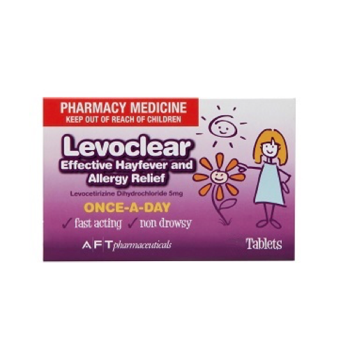 LEVOCLEAR Hayfever & Allergy Relief 5mg