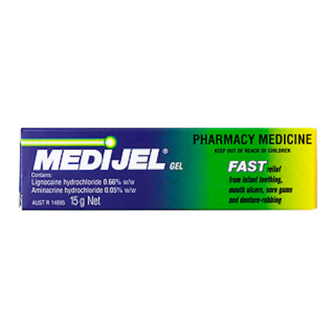 MEDIJEL Mouth Ulcer Gel 15g