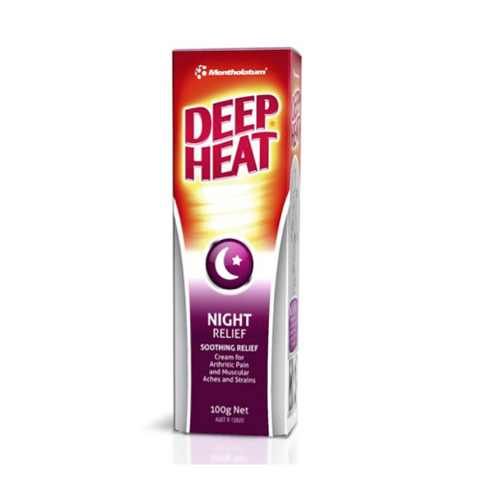 MENTHOLATUM Deep Heat Night, 100g