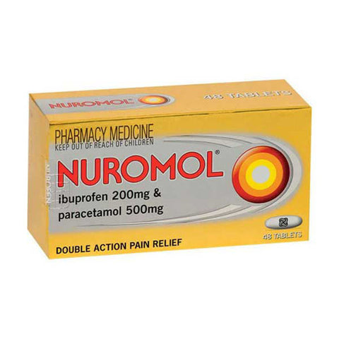 NUROMOL Double Action Pain Relief Tablets