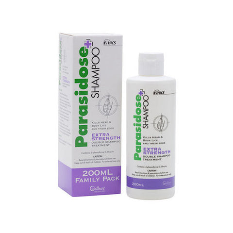 PARASIDOSE Extra Strength Shampoo, 200mL