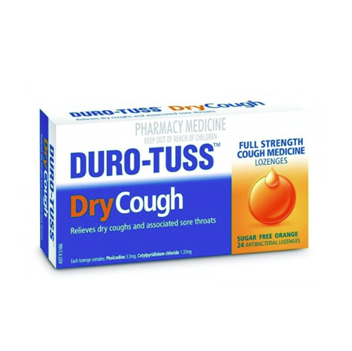 DURO-TUSS Dry Cough Lozenges, 24