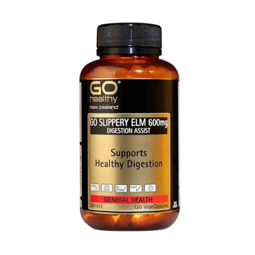 GO Slippery Elm 600mg, 120