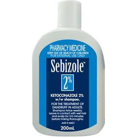 SEBIZOLE 2% Anti-Dandruff Shampoo, 200mL