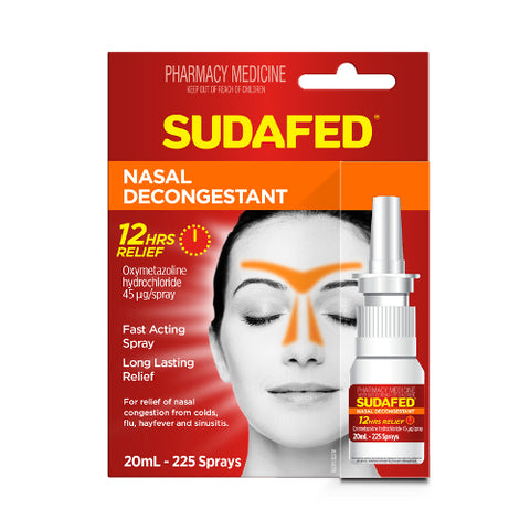 SUDAFED Nasal Spray, 20mL