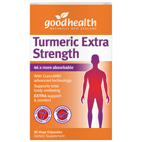 GOOD HEALTH Turmeric Extra Strength Capsules, 30's