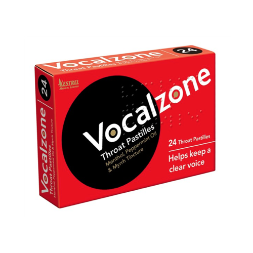 VOCALZONE Throat Pastilles, 24's
