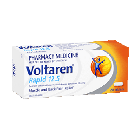 VOLTAREN Rapid 12.5mg Tablets