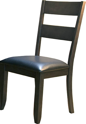 MRPWG255K LADDERBACK UPH CHAIR SILO