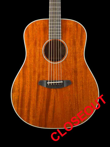 Breedlove Frontier Dreadnaught E - Mahogany Top - Mahogany Back and Sides - Ebony Fingerboard