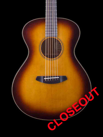 Breedlove Oregon Concert Whiskey Burst E - Sitka Top - Myrtlewoo Back and Sides - Ebony Fingerboard