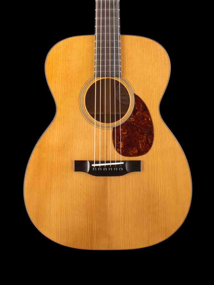 Bourgeois OM Country Boy - Aged Tone Adirondack Top - Mahogany Back and Sides - 1 3/4 Nut Width