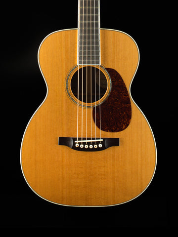 Bourgeois 0-150 - Aged Tone Adirondack Spruce Top - Brazilian Rosewood Back and Sides - Short Scale Fossil String Pins - Hyde Glue