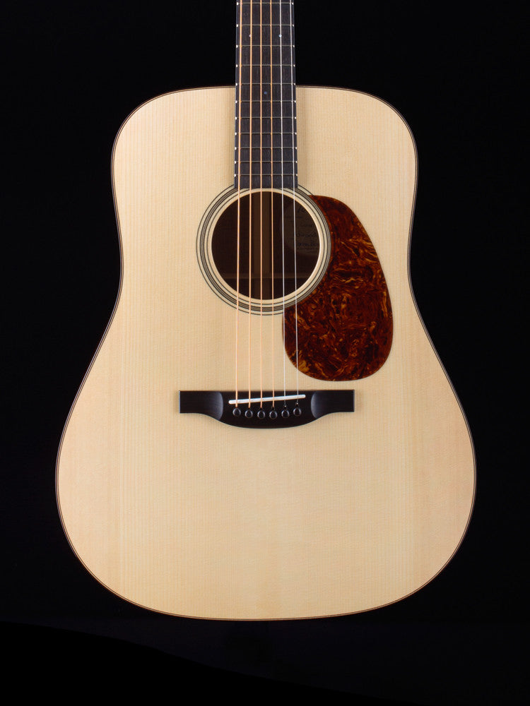 Bourgeois D Country Boy - Adirondack Top - Mahogany Back and Sides - Nickel Waverley Tuners