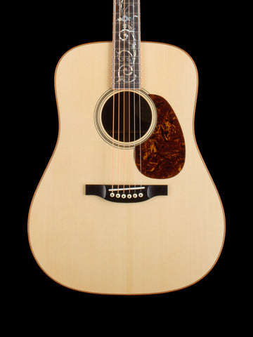 Bourgeois D Wood Deluxe - Adirondack Top - Figured Koa Binding - Guatemalan Rosewood Back and Sides - Tree of Life Fingerboard Inlay - Multi Color Herringbone Back Stripe