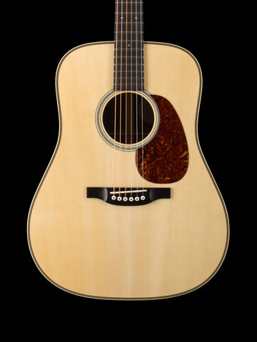 Bourgeois - Vintage D - Adirondack Spruce Top - East Indian Rosewood - Vintage Herringbone Border - Waverly Nickel Tuners