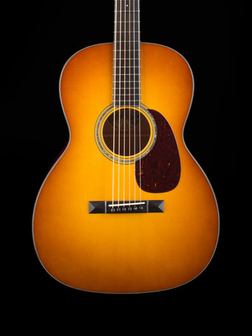 Collings 0001 - 1-Style Sunburst Adrondick Top - Figured Mahogany Back and Sides - Abalone Rosette - 1 3/4 Nut Width - Torch Inlay