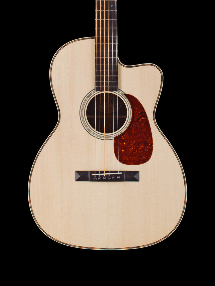 "Collings 0002H Cutaway - German Top - Herringbone Trim - 1 3/4"" Nut Width"