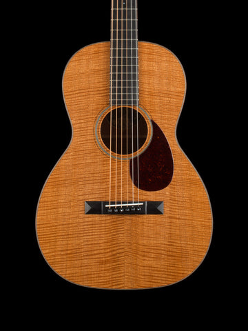 Collings 01 12 Fret - Figured Mahogany Top, Back and Sides - Full Wood Binding - 1 3/4 Nut Width