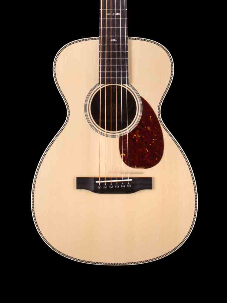 USED Collings 2H Baby - Adirondack Top - East Indian Rosewood Back and Sides - 42 Style Snowflake Inlay - Gold Waverly Tuners