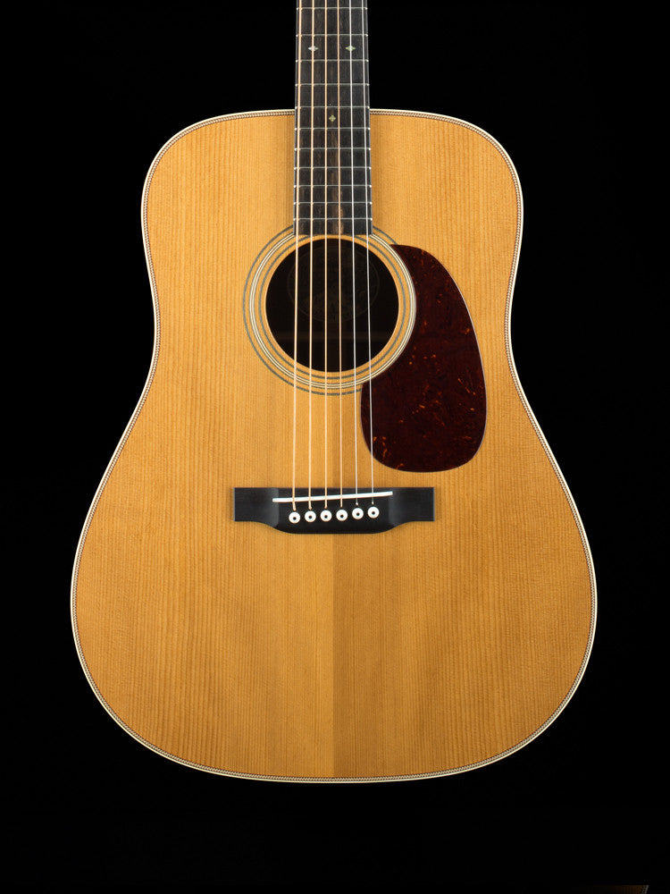 Collings D2H-Traditional Series - Baked Adirondack Top - Madagascar Back and Sides - New Collings Custom Case