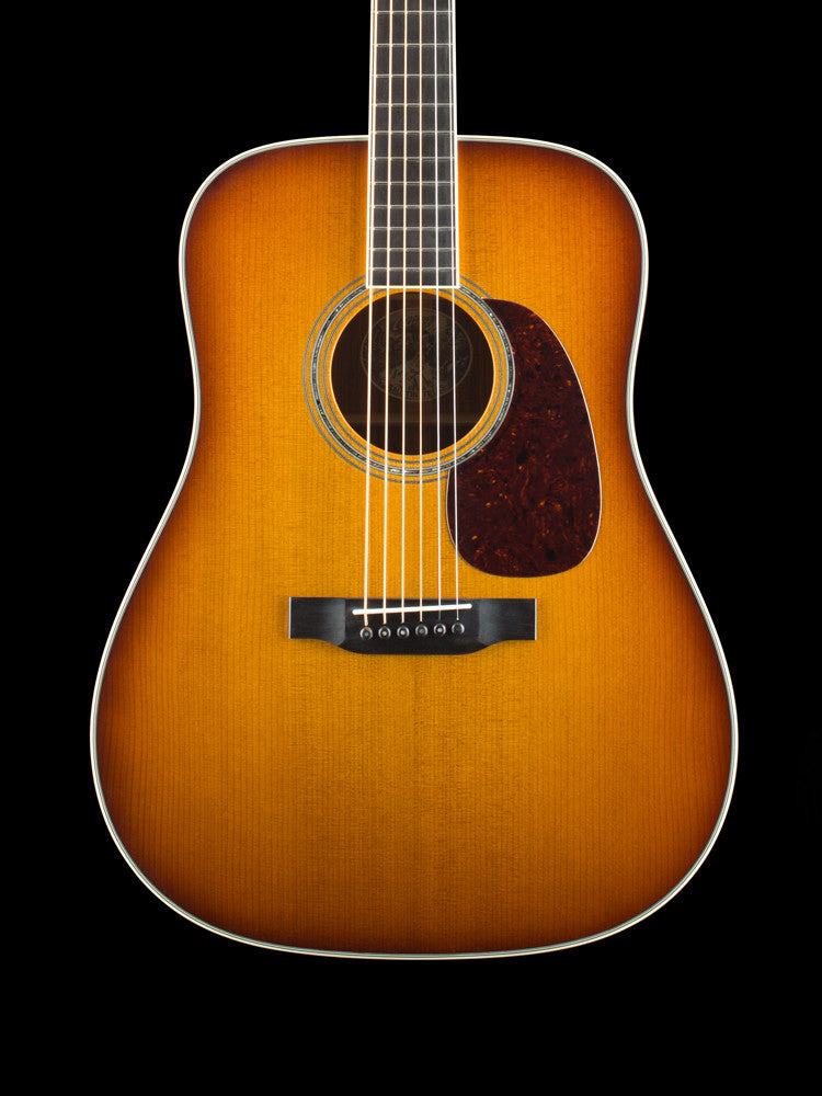 Collings D3 - Adirondack Spruce Top (Baked) - Cocobolo Back and Sides - Western Shade Burst -  1 3/4 Nut Width