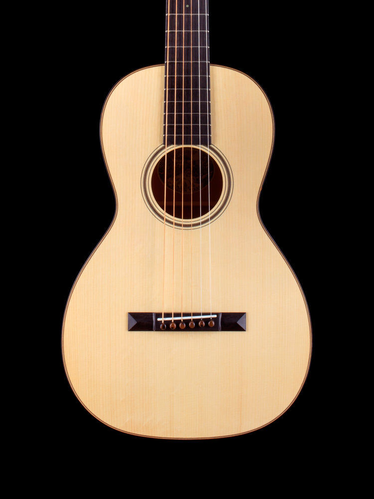 Collings Parlor 1 - Adirondack Spruce Top - Traditional Package - Collings Parlor T Style Case