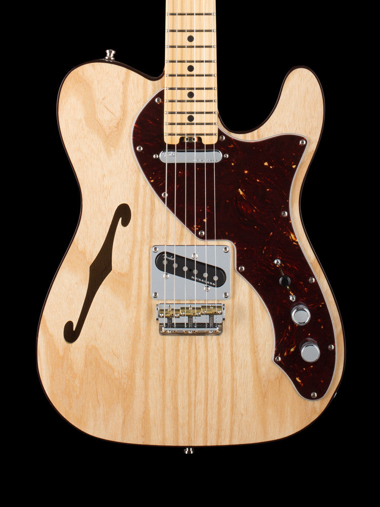 Fender American Standard Ltd. Thinline Telecaster - Natural Finish - Ash Body - 4th Generation Noiseless Pickups 5.8lbs.
