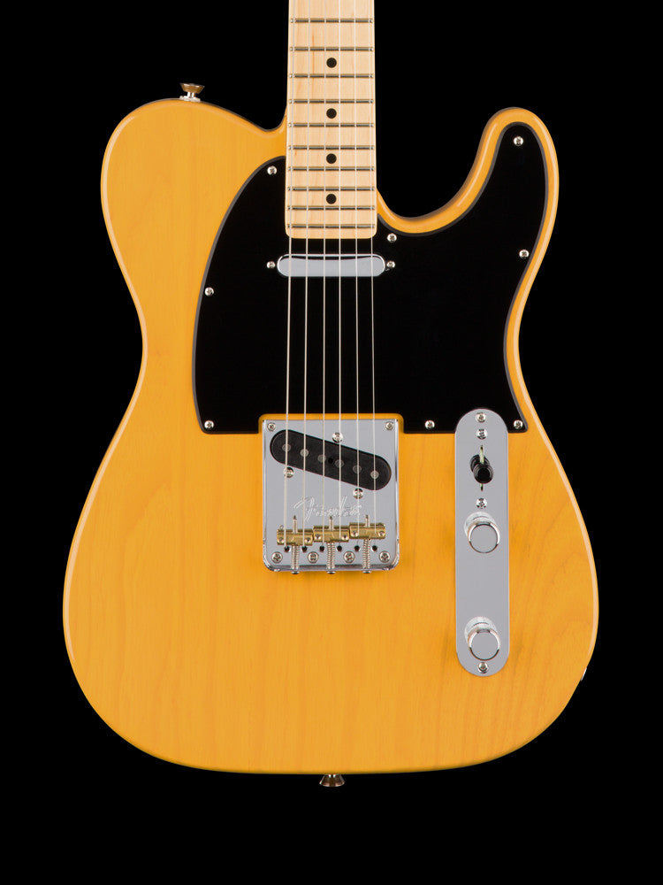 Fender American Professional Telecaster - Maple Neck - Butterscotch Blonde - New Elite Case - 7.2 lbs.