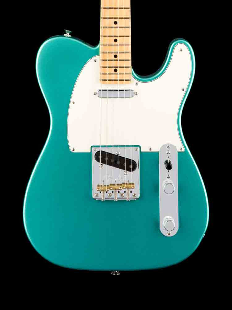 Fender American Professional Telecaster - Mystic Seafoam Green - Maple Neck - Elite Case 7.4lbs.