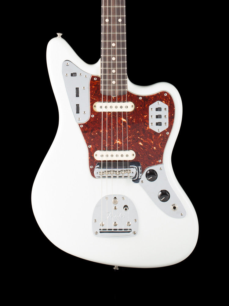Fender Custom Shop Jaguar - Olympic White 8.6lbs.