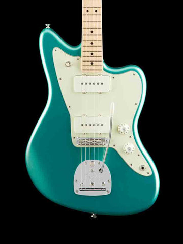 Fender American Professional - Jazzmaster - Mystic Seafoam Green - Maple neck - New Elite Case - 8.4lbs