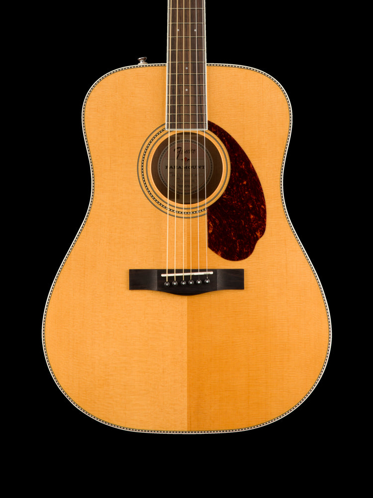 Fender Paramount Dreadnaught -  Sitka Spruce Top - Mahogany Back and Sides - Rosewood Fingerboard - Natural Finish