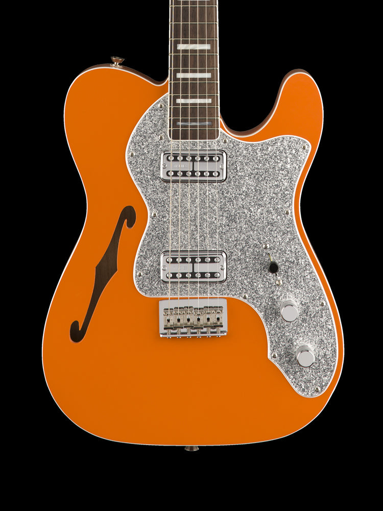 Telecaster Thinline Deluxe - Limited Edition - Orange - Rosewood Fingerboard