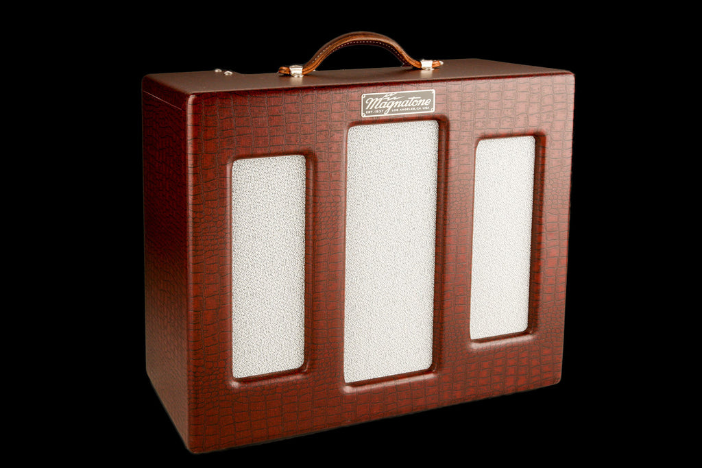 Magnatone Lyric 1x12 Combo - Cathedral Front