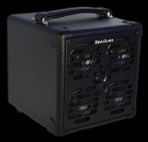 "Henriksen Rey Extention Cabinet - 4 - 3"" Line Array Speakers - Tweeter - Mic Stand Mount and Sub Port"