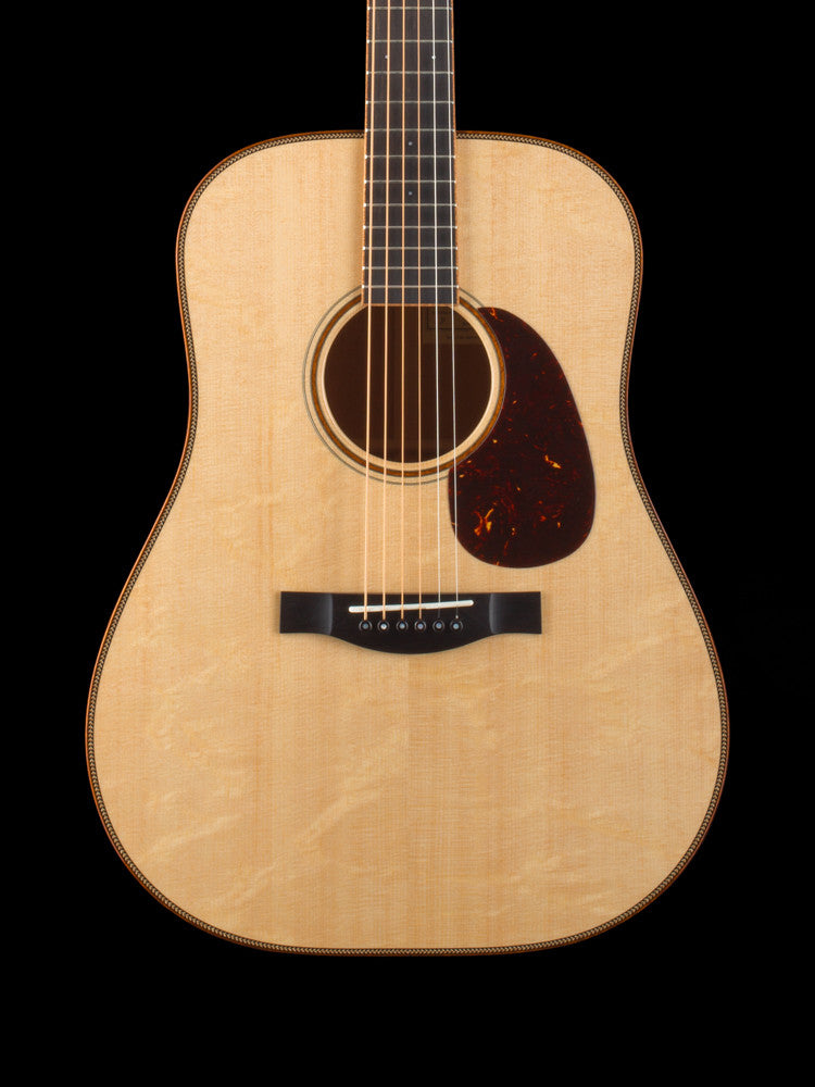 Santa Cruz D Model - Bear Claw Sitka Spruce Top -Master Grade Indian Rosewood Back and Sides - Herringbone Top Purfling