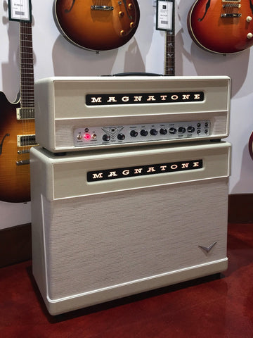 Magnatone Super 59 Mark II - Limited Edition Perfectamundo Cream Cosmetic - Head and 2X12 Cabinet
