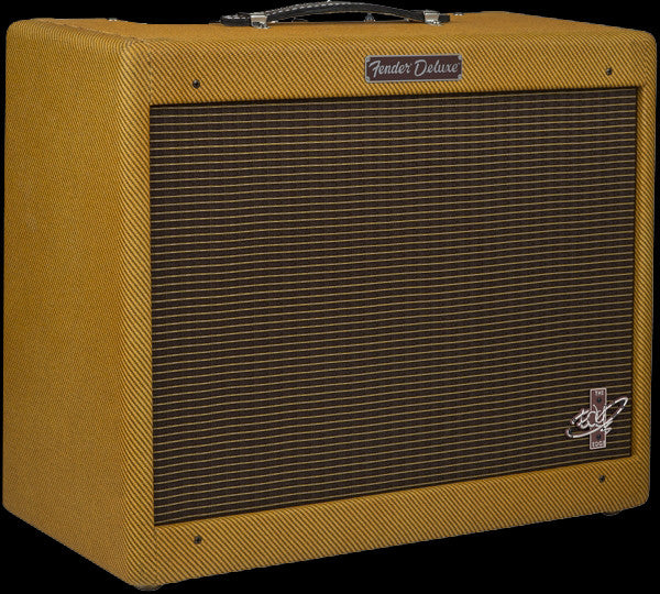 Fender The Edge Deluxe Amplifier - 12 Watts - Celestion Blue Speaker - Lacquered Tweed, Bassman