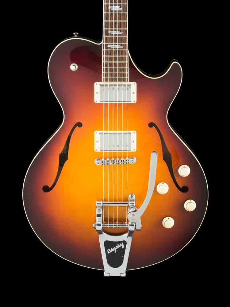 "USED Collings SOCO LC DLX 16"" - Sunburst Top - Bigsby - Parallagram Inlays 8.2lbs."
