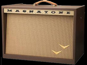 Magnatone Panoramic Stereo Amplifier - 12+12 Watts - 4 EL84 - Stereo Vibrato - Tremolo - Reverb - 2 Button Footswitch