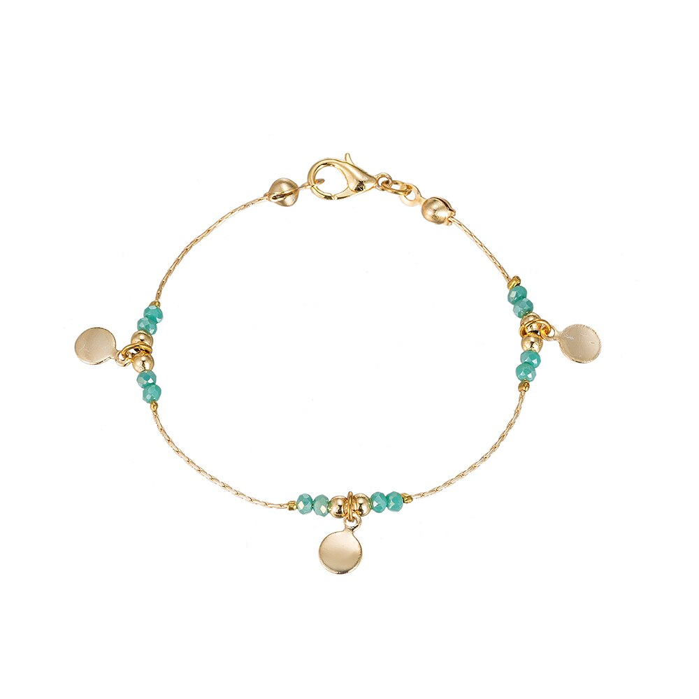 Triple Flake Gold Plated Bracelet
