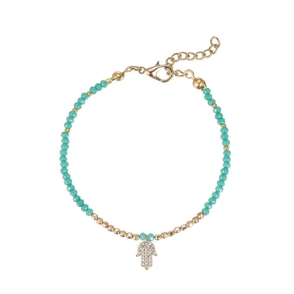 Hand of Miriam Gold Plated Bracelet