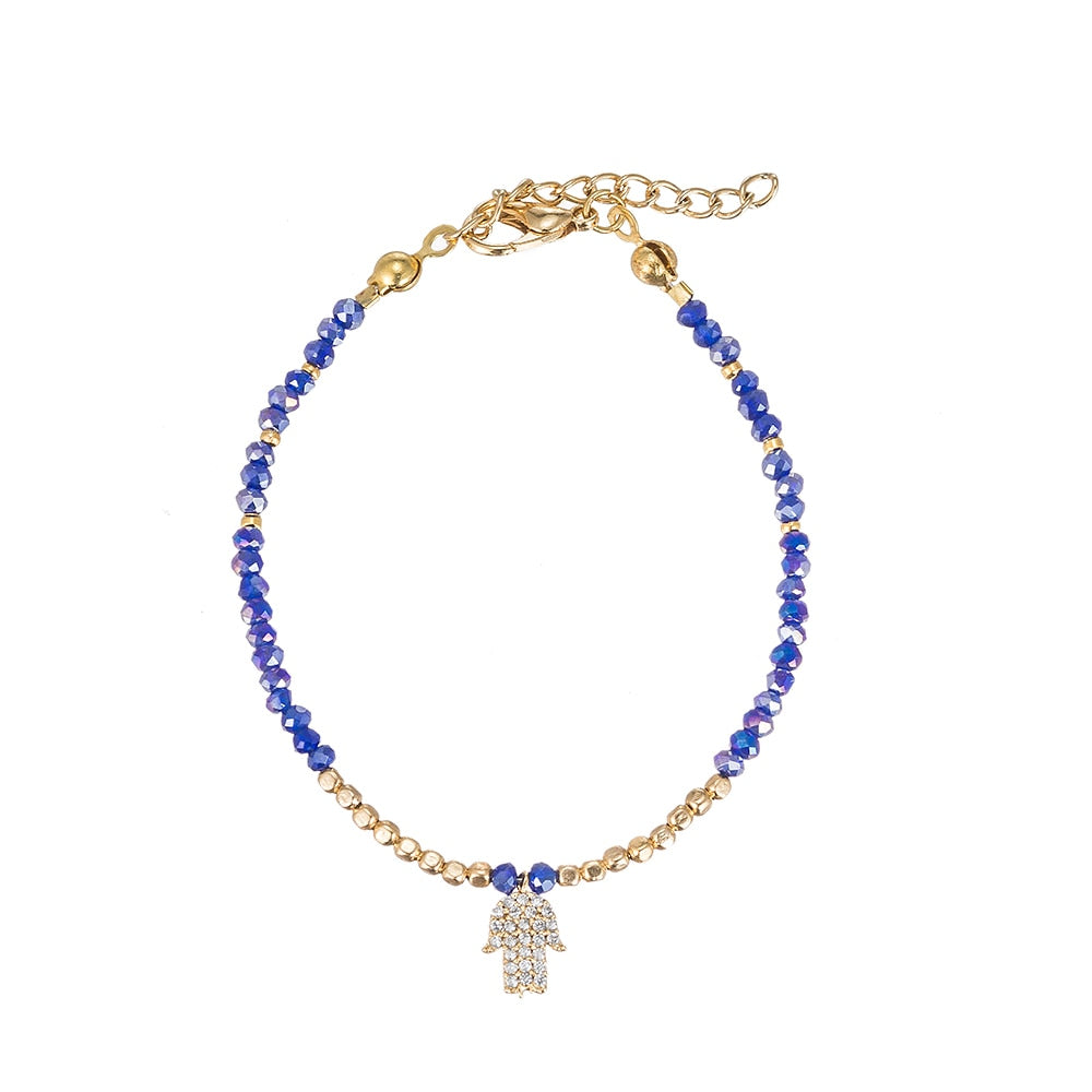 Hand of Mary Gold Plated Bracelet