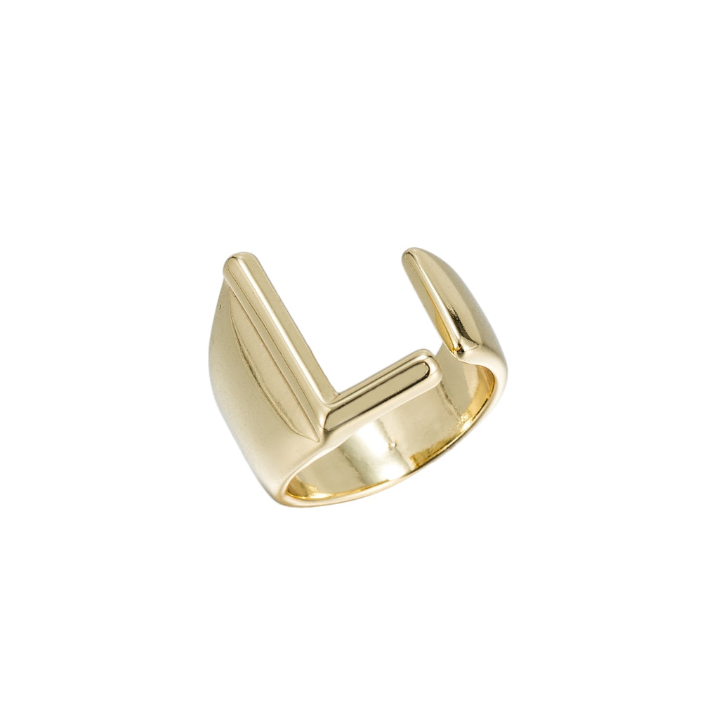 L Adjustable Initial Ring