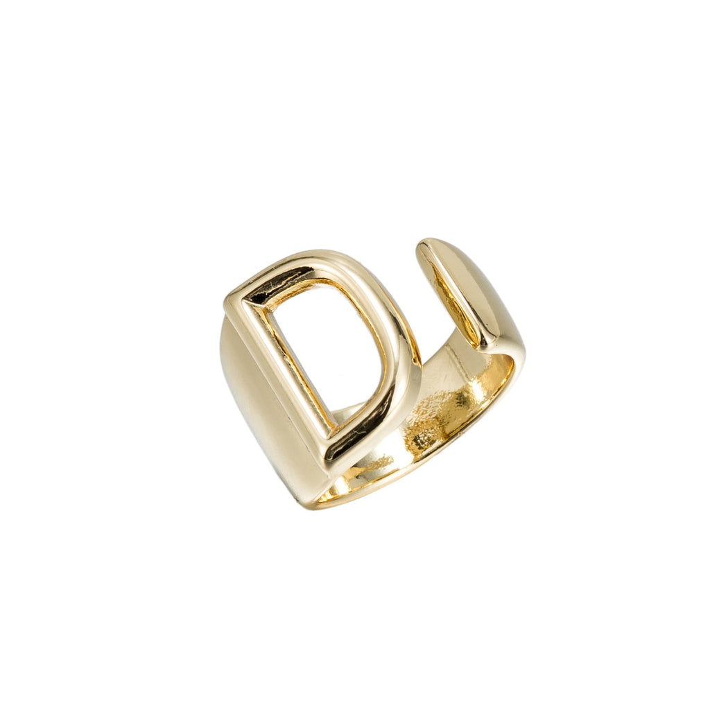 D Adjustable Initial Ring